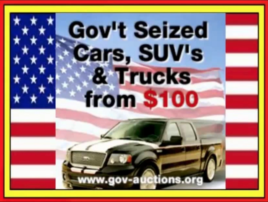 Government Auctions Cars: Vehicles 95% Off!